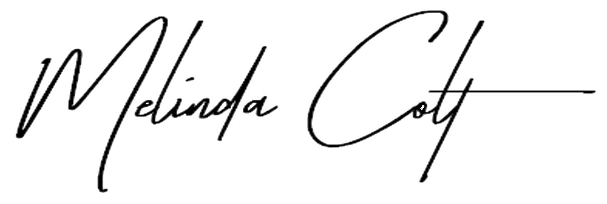 Melinda Colt signature